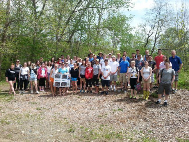 Blackstone River Watershed Council's River Rat Program volunteers
